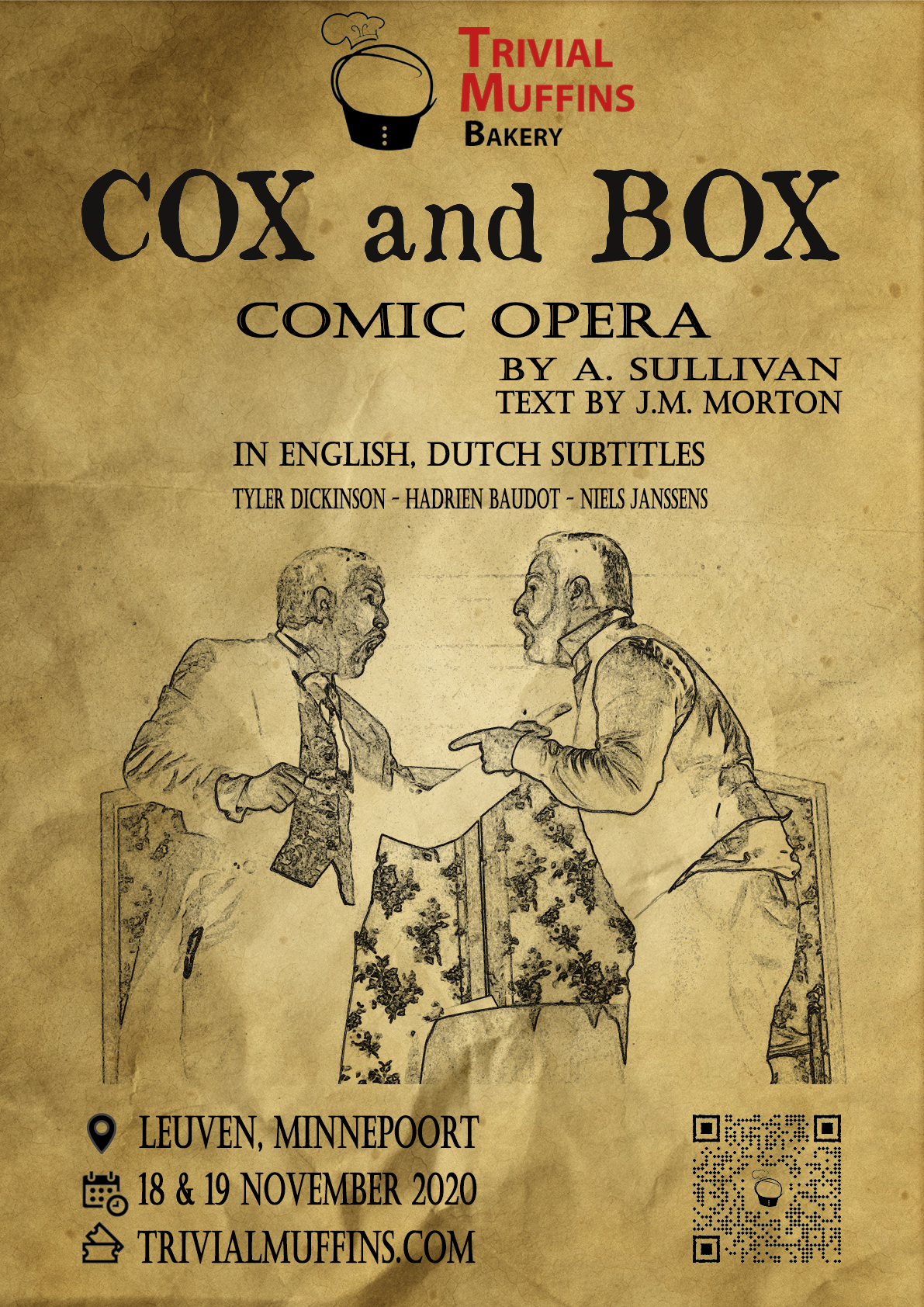 Cox and Box poster