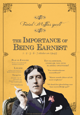 The Importance of Being Earnest 2015 poster